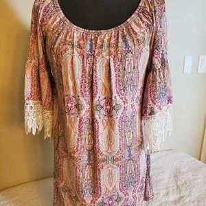 COPY - GORGEOUS COLORFUL TUNIC OR DRESS